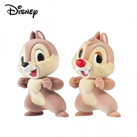 Banpresto Disney Fluffy Puffy - Tic et Tac - Chip'n Dale