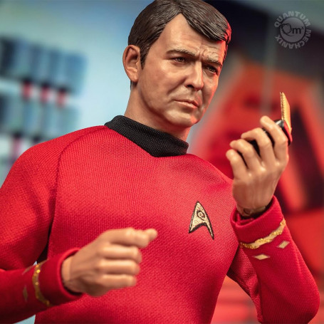 Quantum Mechanix Star Trek TOS figurine 1/6 Montgomery ''Scotty'' Scott