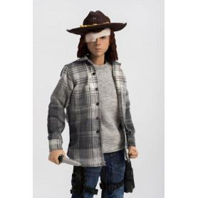 Three Zero The Walking Dead Figurine Carl Grimes 29 cm