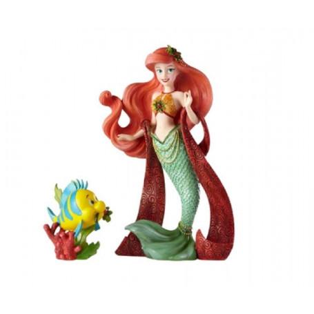 Disney Haute Couture Statue Ariel Christmas La petite Sirène