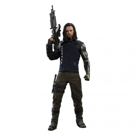 Avengers Infinity War - Movie Masterpiece 1/6 Hot Toys - Bucky Barnes 30 cm