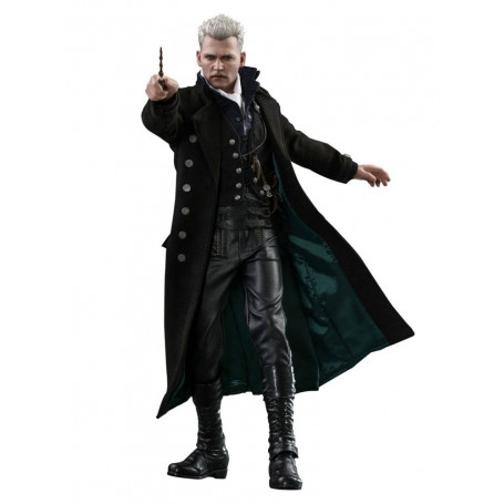 Hot Toys - Les Animaux fantastiques 2 - Movie Masterpiece 1/6 Gellert Grindelwald 30 cm