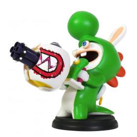 Mario + The Lapins Crétins Kingdom Battle figurine PVC Rabbid-Yoshi 16 cm