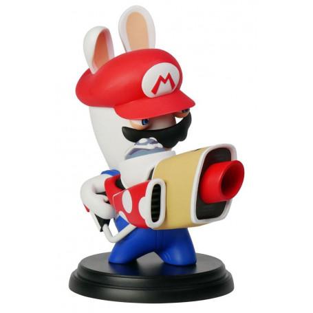 Mario + The Lapins Crétins Kingdom Battle figurine PVC Rabbid-Mario 16 cm