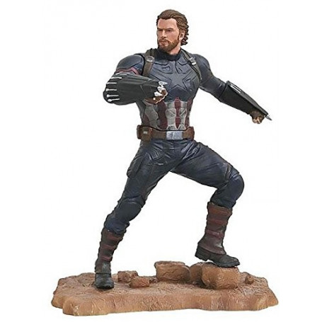 Diamond Marvel Gallery Figurine - Avengers Infinity War - Captain America