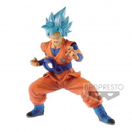 Banpresto Super Dragon ball Heroes : Transcendence Art Vol.1 : SonGoku Blue - Ssj God Ssj