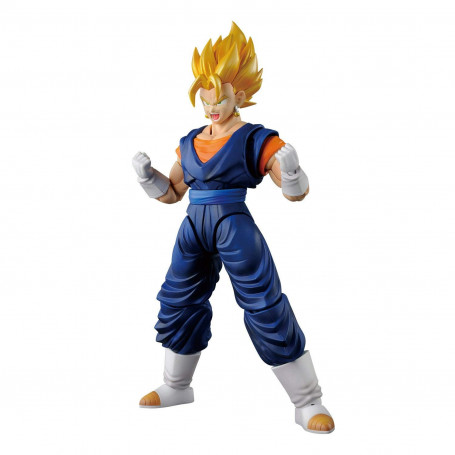 Bandai FIGURE-RISE DRAGON BALL Z - Vegetto - Vegito - Bejito SSJ Blue - Model Kit.