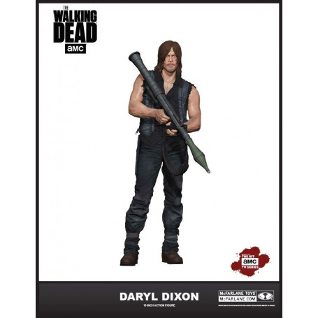 Mcfarlane Walking Dead TV Deluxe Daryl Dixon 26 cm