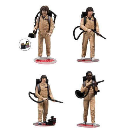 McFarlane Stranger Things - Saison2 - Ghosbusters pack