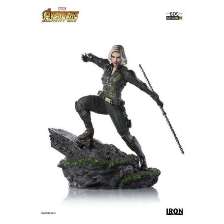 Iron Studios Marvel - Avengers Infinity War - Black Widow - BDS Art Scale 1/10