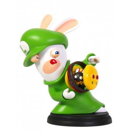 Mario + The Lapins Crétins Kingdom Battle figurine PVC Rabbid-Luigi 16 cm