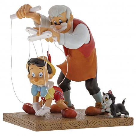 Enchanting Disney Pinocchio Figurine