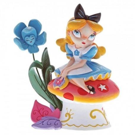 Enesco Disney Miss Mindy Alice on Mushroom