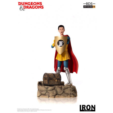 Iron Studios Dungeons & Dragons - Le Sourire du Dragon - statuette BDS Art Scale 1/10 Eric The Cavalier - 20 cm