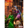 Iron Studios Dungeons & Dragons - Le Sourire du Dragon - statuette BDS Art Scale 1/10 Sheila The Thief - 22 cm
