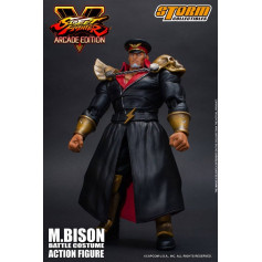 Storm Collectibles - Street Fighter V Arcade Edition - M.Bison (Vega) Battle Costume - 1/12 - 18cm