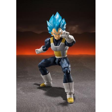 Bandai Dragon Ball Super Broly - SHF SHFiguarts - Super Saiyan God Super Saiyan Vegeta - 14cm