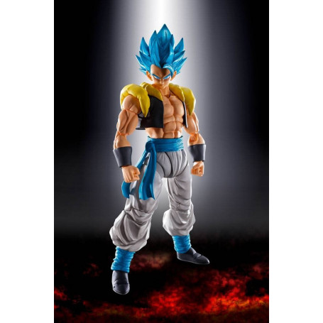 Bandai Dragon Ball Super Broly - SHF SHFiguarts - Super Saiyan God Super Saiyan Gogeta - 14 cm