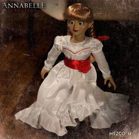 Mezco Annabelle 2 La Création du mal réplique poupée Annabelle