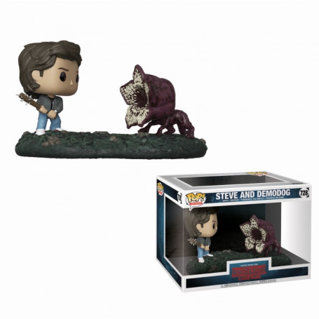Funko POP 728 - Stranger Things Steve and Demodog