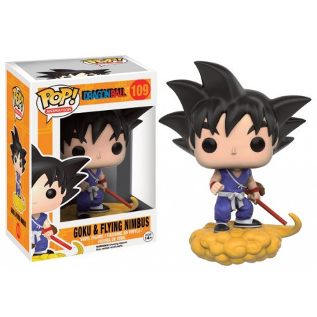 Funko POP 109 Dragon Ball Z - Goku et Nuage