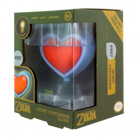 Paladone Legend of Zelda Lampe Heart Container