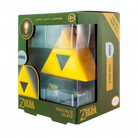 Paladone Legend of Zelda Lampe Triforce 3D