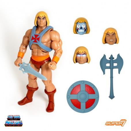 Super 7 Masters of the Universe Classics Ultimate Filmation - Les Maîtres de l'Univers - He-Man - Musclor