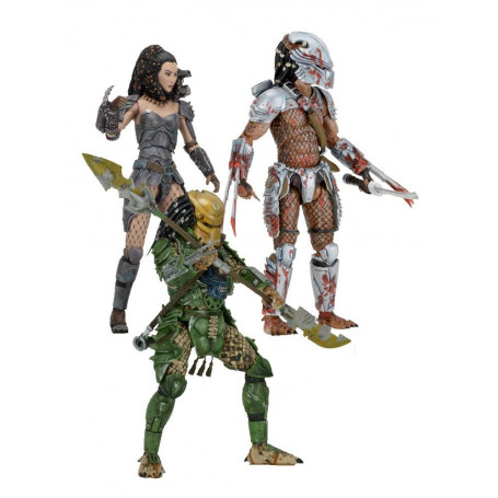 Neca Predator série 18 - Horned Head - Machiko - Broken Tusk