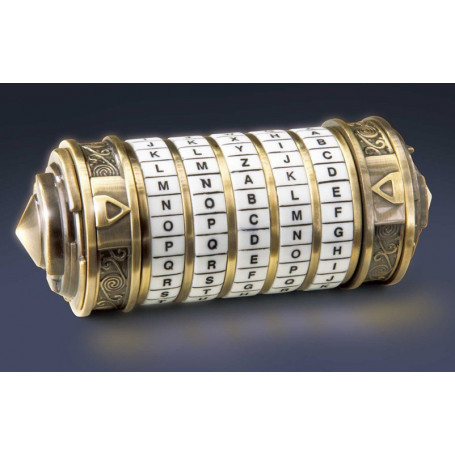 Noble Collection - Replique Mini Cryptex - DaVinci Code -