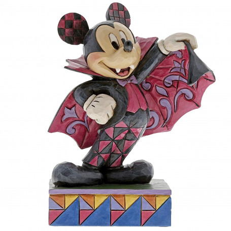 "Enesco Disney Traditions - Mickey Vampire ""Colorfull Count"""