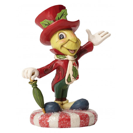 """Enesco Disney Traditions - Jiminy Cricket """"Jolly Jiminy"""""""