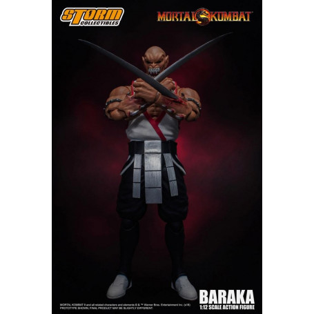 Storm Collectibles - Mortal Kombat - Baraka 1/12