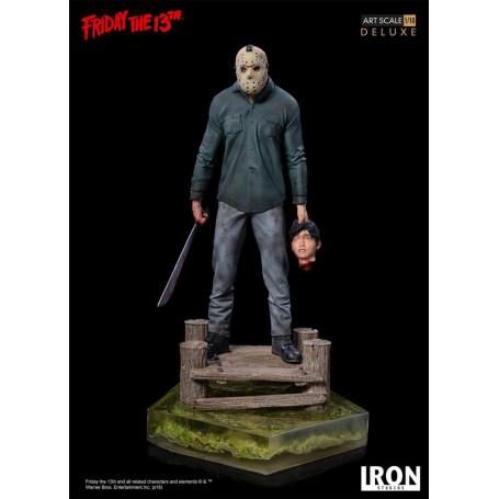 Iron Studio Statue Vendredi 13 Friday the 13th - Jason - Deluxe Art Scale - 1/10
