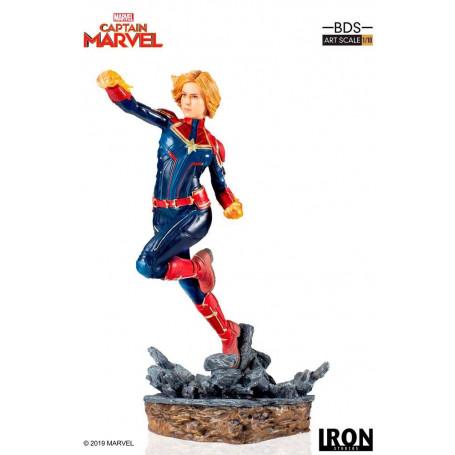 Iron Studios Marvel Comics - BDS Art Scale 1/10 - Captain Marvel