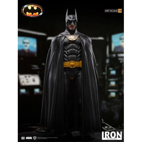 Iron Studios DC Comics - BDS Art Scale 1/10 - Batman - 1989 Burton