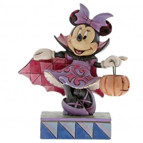 "Enesco Disney Traditions - Minnie Vampire ""Violet Vampire"""