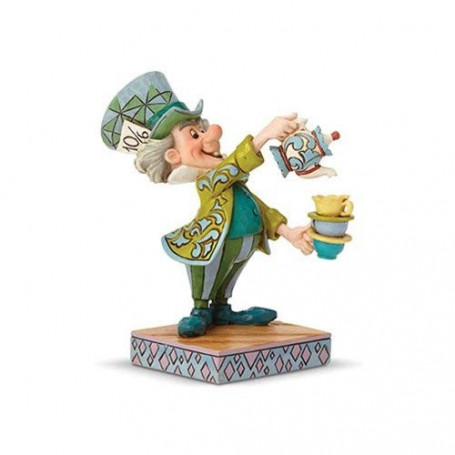 "Enesco Disney Traditions - Alice au pays des Merveilles - Le Chapelier Fou - Mad hatter ""A Spot of Tea"""