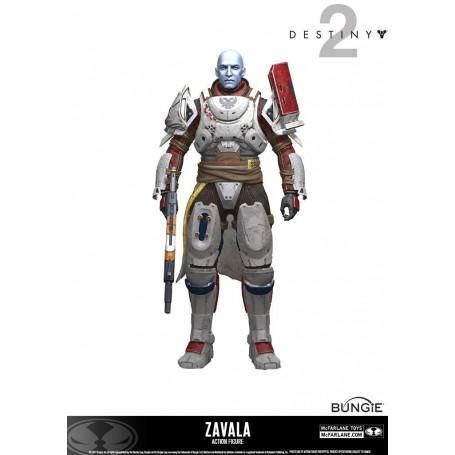 Mcfarlane Destiny 2 figurine Zavala 18 cm