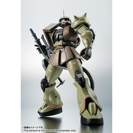 The Robotspirits Ms-06 Zaku II Mass Production Model Ver. A.N.I.M.E. Real Type Color