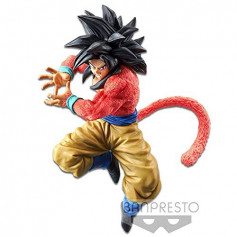 Banpresto Dragonball GT - Son Goku SSJ4 - Kamehameha x10