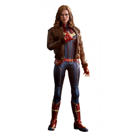 Hot Toys - Captain Marvel Movie Masterpiece 1/6 - Deluxe Version 29cm