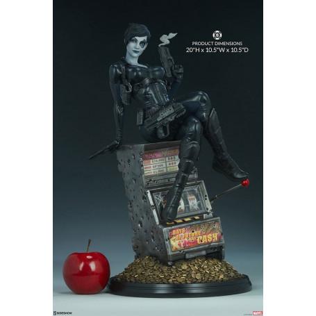 Sideshow Marvel statue Premium Format PF Domino - 50cm
