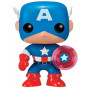 Captain America Marvel Pop! Vinyl Bobble Head Photon Shield 75th Anniversary