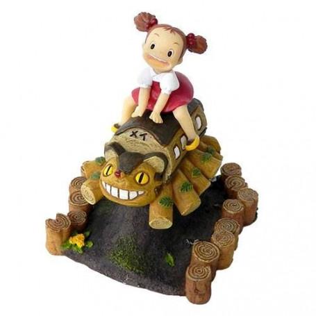 Mon voisin Totoro - Statue Mei sur Chatbus