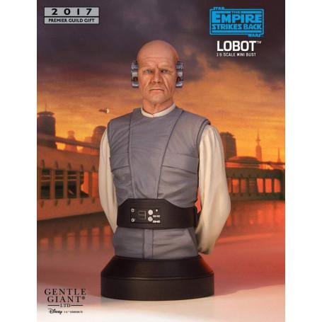 Gentle Giant Star Wars Episode V buste 1/6 Lobot PGM Exclusive 18 cm