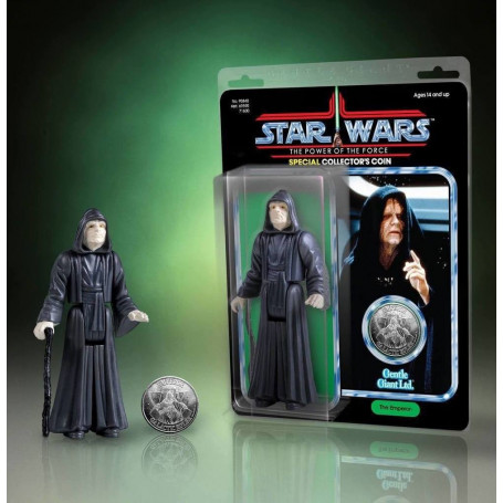Gentle Giant Star Wars figurine Jumbo Kenner Emperor Palpatine