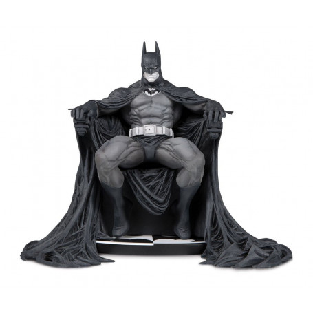 DC Direct Statue Batman Black and white by Marc Silvestri