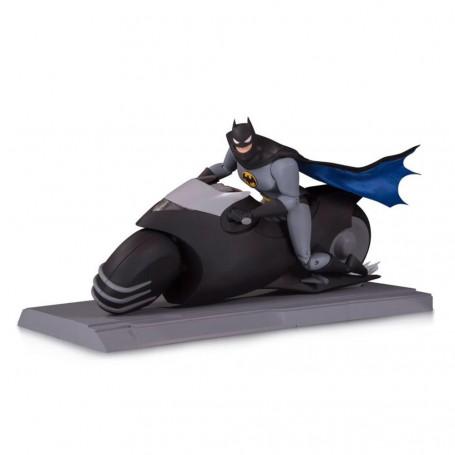 DC Direct Batman Animated - Batman with Batcycle