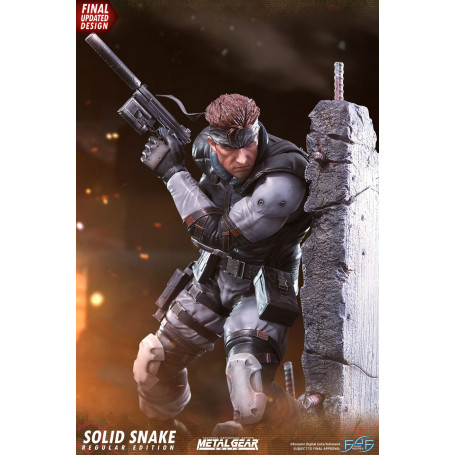 Metal Gear Solid - Statue Solid Snake - First 4 Figures